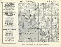 Ann Arbor T2S-R6E, Washtenaw County 1957
